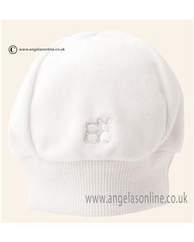 Emile et Rose Velour Pull on Hat 4617wh