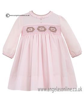 Sarah Louise Long Sleeve Dress 10006 PK