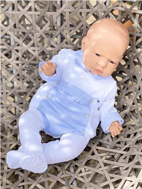 Laranjinha Baby Boys Body Top & Shorts 5112/5111 Blue