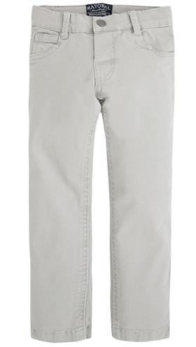 Mayoral Boys Light Grey Five Pocket Twill Trousers 41