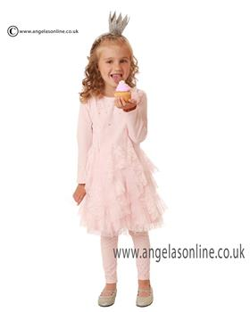 Kate Mack Girls Dress & Legging 505/511 OPC Pink