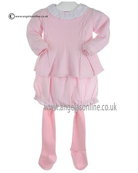 Tutto Piccolo Baby Girls Jumper Short & Tight 8602/8302 Pink
