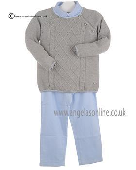 Tutto Piccolo Boys Shirt Jumper & Trouser 8018/8618/8127
