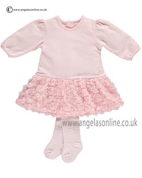 Emile et Rose Baby Girls Dress Tulle Flowers Flick 6270pp
