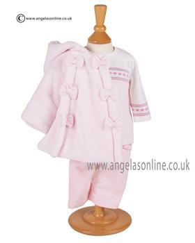 Emile et Rose Baby Girls Fleece Jacket Fortuna 9244pp