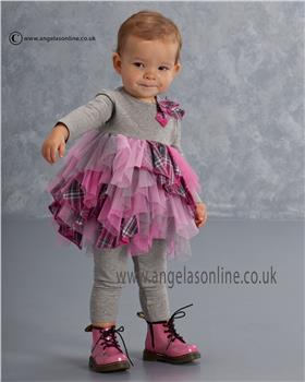 Kate Mack Girls Tunic Dress & Legging 540MGA