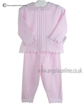 Pex Baby Girls Jumper & Trousers Lara 6046 Pink