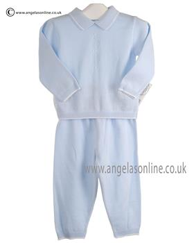 Pex Baby Boy Dudley Jumper & Trouser 6066 Blue