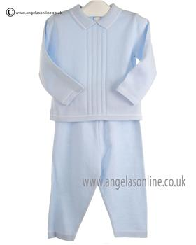 Pex Baby Boys Jumper & Trouser Leon Suit 6041 Blue