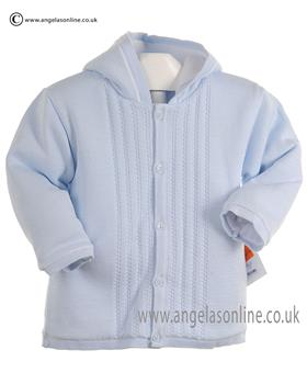 Pex Baby Boys Knitted Jacket Leon 6044 Blue
