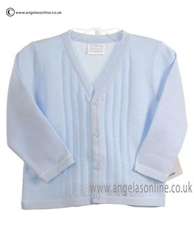 Pex Baby Boys Cardigan Leon 6043 Blue