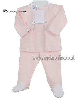 Babidu Baby Girls  2 Piece 58120 Pink