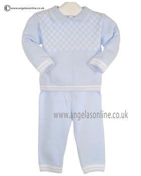 Pex Boys Jumper & Trouser Byron B6200 Blue/White