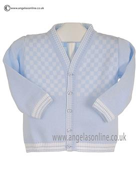 Pex Boys Bryon Cardigan B6109 Blue/White