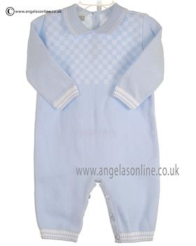 Pex Boys Knitted All In One Byron B6108 Blue/White
