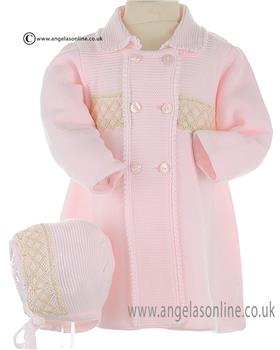 Granlei Baby Girls Coat 2-1065 Pink