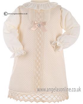 Granlei Baby Girls Dress 2-1092 Cream