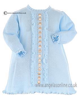Granlei Baby Girls Dress 2-1361 Blue