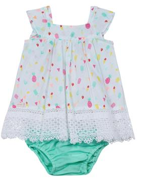 Catimini Baby Girls Dress & Knickers CH30081