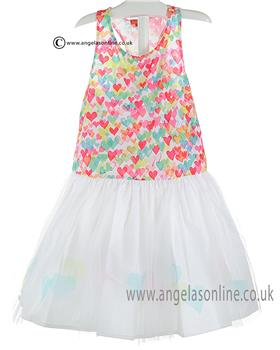 Kate Mack Girls Dress 522LA Multi