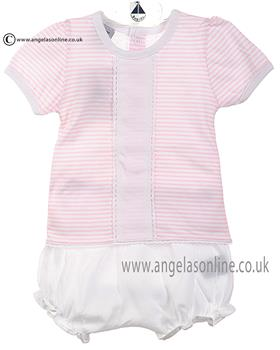 Babidu Baby Girls Top & Bloomer 44213 Pink
