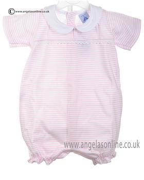 Babidu Baby Girls Romper 12213 Pink