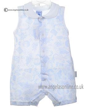 Babidu Baby Boy Romper 552 Blue