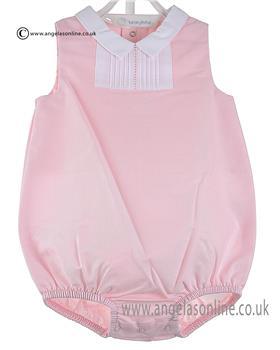 Laranjinha Baby Girl Romper V6622 Pink