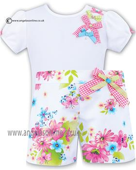 Sarah Louise Girls T-Shirt & Short 010361/010362