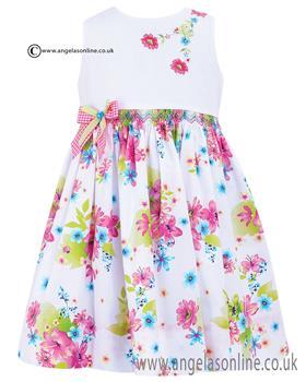 Sarah Louise Girls Dress 010364