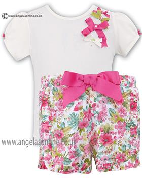Sarah Louise Girls Tshirt/Shorts 010354/010355