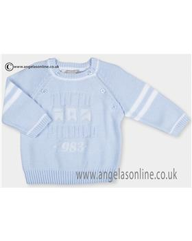 Tutto Piccolo Boys Jumper 9826 Blue