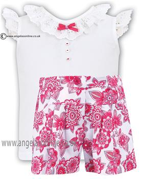 Sarah Louise Girls Top/Skort 010321/010322
