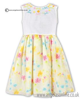 Sarah Louise Girls Dress 010312