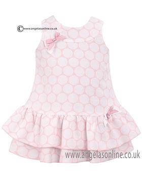 Dani Baby Girls Dress D09024 Pink