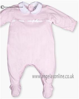 bbbe2ec54493 Tutto Piccolo Baby Girls All in One 9185 Pink