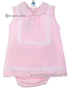 Babidu Baby Girls Dress 22300 Pink