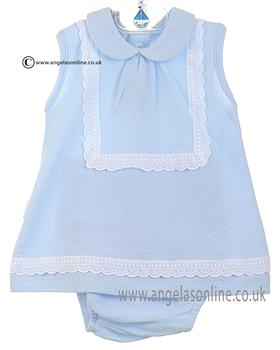 Babidu Baby Girls Dress 22300 Blue