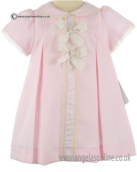Pretty Originals Girls Dress MB10269E Pk/Cr