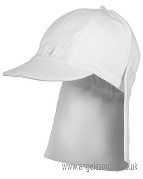 Emile Et Rose Boys Sun Hat Aspen 4632 White