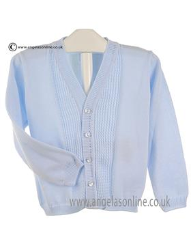 Pretty Originals Baby Boys Cardigan JPB6090 Blue