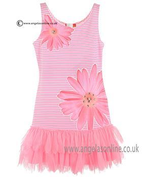 Kate Mack Dress 681DD Pink