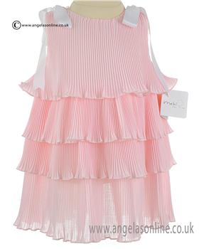 Mebi Baby Girls Dress 1413-057 Pink