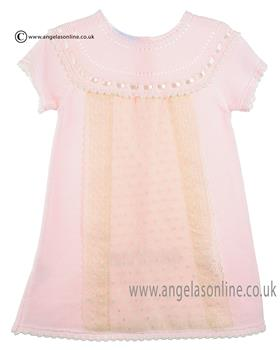Granlei Baby girls Dress 1-393 Pink