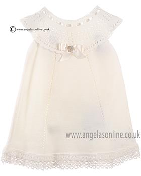 Granlei Baby Girls Dress & Knicks 1-288/290 Cream