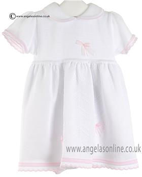 Pex Baby Girls Dress & Knicker Orla B6364 White