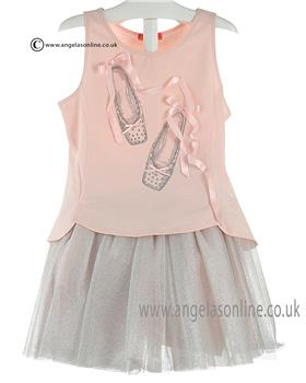 Kate Mack Girls Top & Skirt 535/536TT