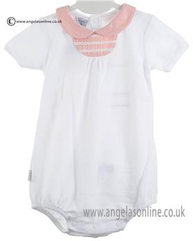 Babidu Baby Girls Romper 12306 Pink