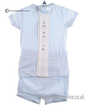 Babidu Boys Top/Short 43201 Blue