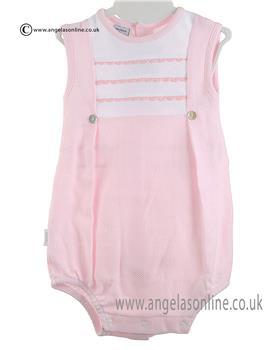 Babidu Baby Girls Romper 11300 Pink